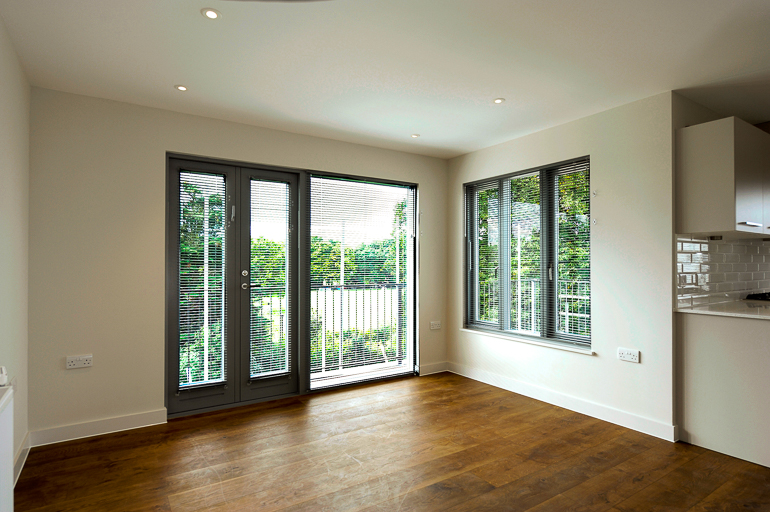 Luxury apartments: wood flooring project